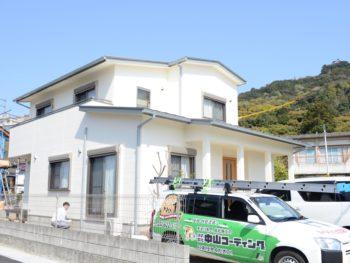徳島県小松島市 外壁塗装 M様
