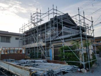 徳島市 屋根セメント瓦塗装 U様邸
