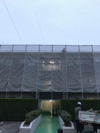 徳島県徳島市 ダイワハウスマンション屋根カバー工法改修工事