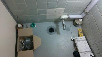 徳島市 内装工事洗面台取付工事