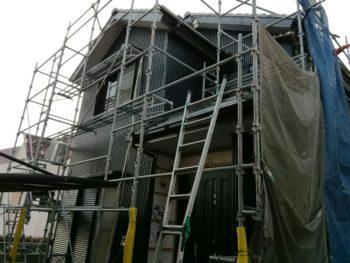 兵庫県南あわじ市 ガルバリウム鋼板外壁張り替え A様邸