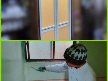 徳島市で浴室中折れドア取付・浴室塗装を施工させて頂きましたT様の声