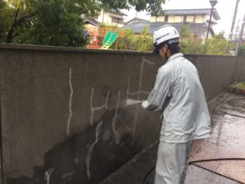 徳島 塗装 GAINA 光触媒 中山コーティング 幸田耳鼻科