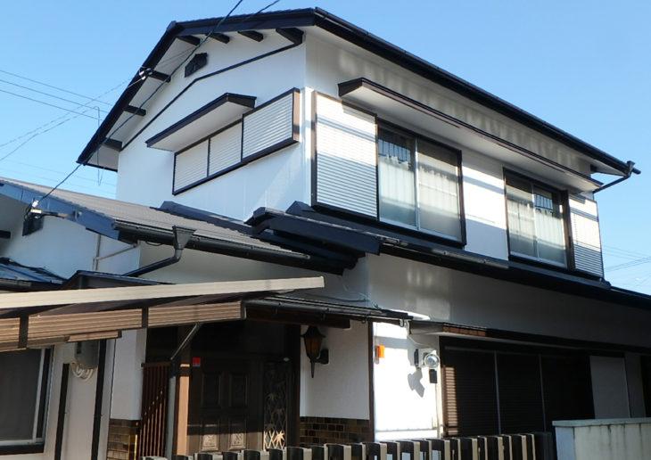 徳島県阿南市で屋根葺き替え工事・外壁塗装を施工させて頂きましたE様の声
