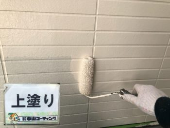 徳島県徳島市 外壁張り替え・塗装 M様邸 引き続き下地作業で大工工事や塗装壁面の色分けなどを施工させて頂いております