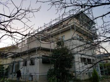 徳島市 ガイナ外壁塗装 ウレタン塗膜防水工事 A様邸