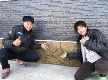 モルタル造形 デザインコンクリート 徳島県 中山コーティング