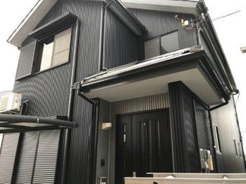 南あわじ市(淡路島) 外壁張り替えガルバリウム鋼板 A様邸