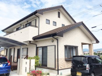 徳島県名西郡石井 外壁補修・シーリング打ち替え・付帯塗装 H 様