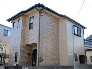 徳島市 屋根無機塗装・クリヤー外壁塗装O様