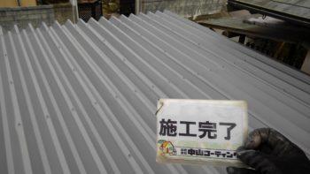 徳島県徳島市M邸 駐車場鉄骨塗装GAISO タフネスシリコンⅡ