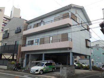 徳島市 外壁塗装・付帯塗装M様邸 日本ペイント ファインシリコンフレッシ