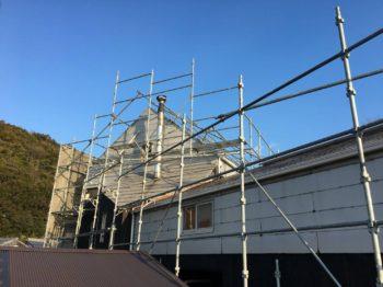 徳島県鳴門市 外壁塗装・屋根塗装・雨漏り修理M様邸 和信化学工業ガードラックアクア・GAISOルーフガード無機/ウォール無機F・コーキング打ち替え