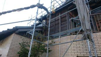 徳島市 外壁張替え U様邸 工事も終盤を迎えております(^^)