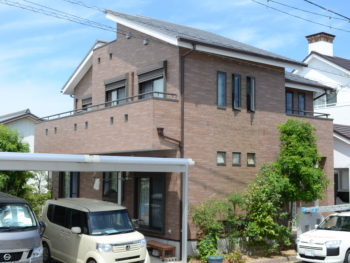 徳島県徳島市クリアー外壁塗装 屋根ガイナ塗装 D様