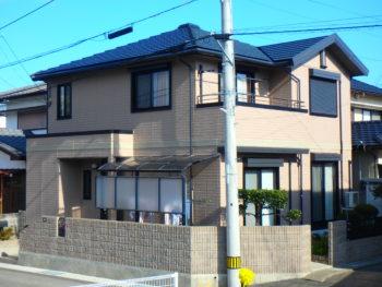 徳島市ダイワハウス塗装 屋根塗装・外壁塗装T様