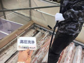 徳島県板野郡北島 外壁塗装・折半屋根塗装O様邸
