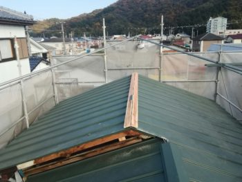 徳島 葺き替え 板金工事 中山コーティング