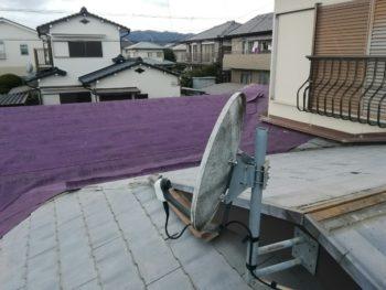 徳島市 セキスイかわらU(ノンアスベスト)屋根葺き替えI様邸