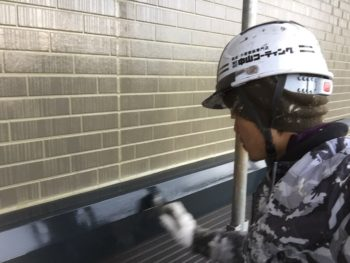徳島 塗装 中山コーティング  シャッター
