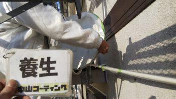 徳島市 フレンチ瓦塗装 3×10さんとうばんサイディング塗装K様邸