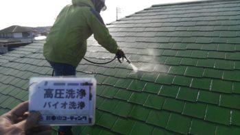 徳島県阿南市 サイディング塗装 カラーベスト塗装S様邸
