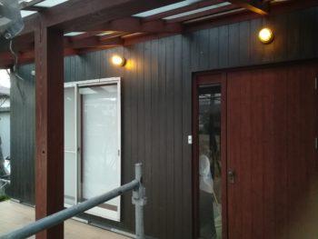 鳴門市 木部壁 ガルバリウム鋼板屋根/壁面塗装 M様邸