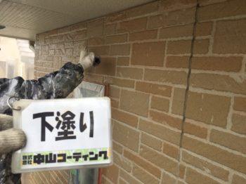 外壁の下塗りや付帯塗装をメインに行わせて頂いております(^^)/