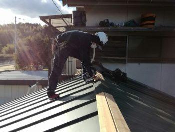 雨漏りをお困りで屋根葺き替え工事を施工させて頂きました徳島市M様の声