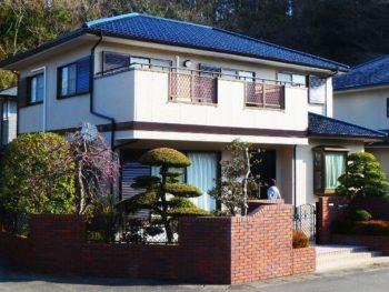 多彩模様のダイヤカレイド・屋根を無機塗装で施工されました徳島市K様の声