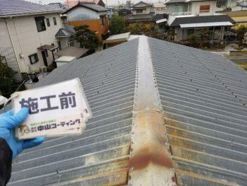 徳島県板野郡上板町 倉庫屋根塗装 N様邸