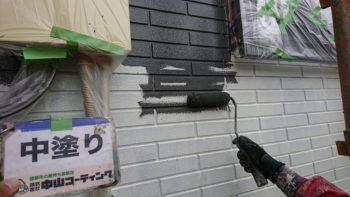 徳島市 外壁塗り分け塗装 T様邸