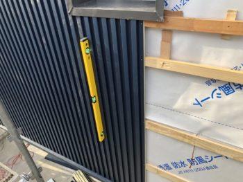 張替え ガルバリウム鋼板 中山コーティング 外壁塗装 徳島