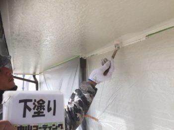 徳島 塗装 中山コーティング 軒天