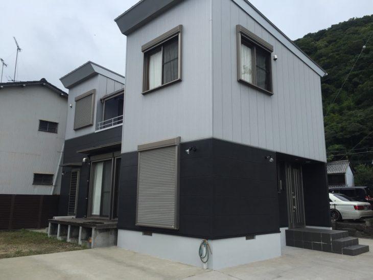 徳島県鳴門市 日本ペイント パーフェクトセラミックトップG外壁塗装S様