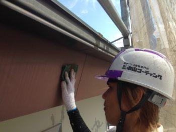 徳島 中山コーティング 塗装 塗り替え 破風