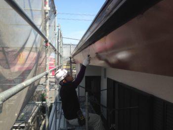 徳島 中山コーティング 塗装 塗り替え 鼻隠し