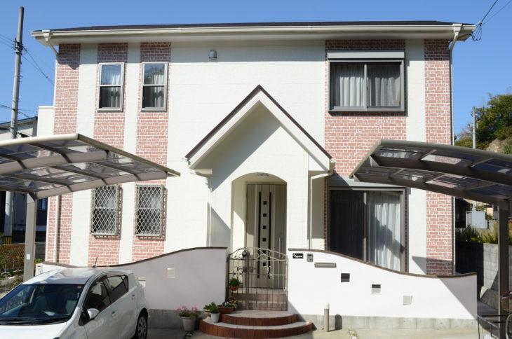 徳島県徳島市 日本ペイントを使用し屋根塗装・外壁塗装・塀塗装 S様