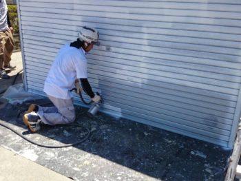 徳島 中山コーティング 塗装 塗り替え シャッター
