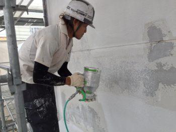 徳島 中山コーティング 塗装 塗り替え 吹き戻し