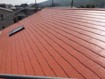 徳島市 屋根ファインパーフェクトベスト塗装・外壁シーリング打ち替え工事 A様