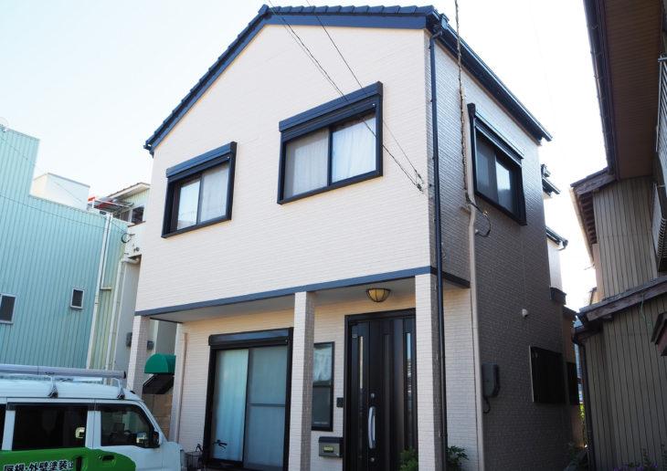 関西ペイントで外壁塗装が完工しました徳島市M様の声