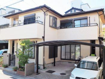 徳島市で外壁ラジカル塗装・屋根シリコン塗装で施工させて頂きましたI様の声。