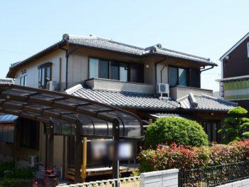 徳島県阿南市で外壁塗装が完了しましたY様の声。