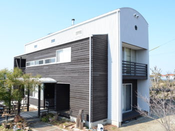 徳島県小松島市 デザイナーズ住宅外壁塗装Y様邸