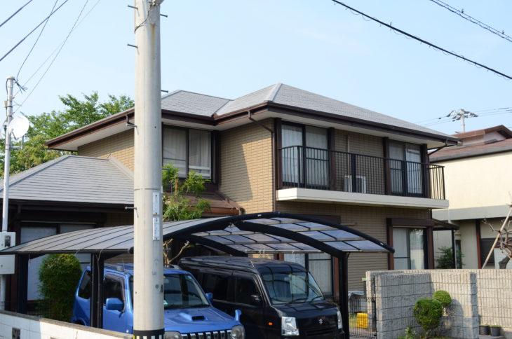 徳島市 ミサワホーム外壁塗装・屋根塗装Y様邸 セラミック外壁