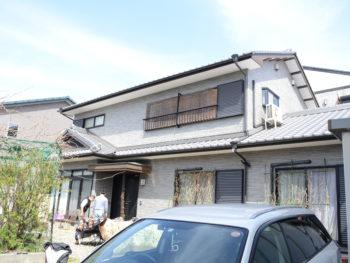 超高耐久のクリアー塗装で外壁を塗り替え・木部ガードラック塗装 徳島市N様