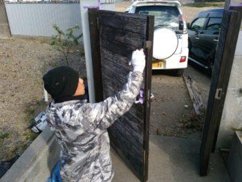 徳島 門扉 塗り替え 塗装 中山コーティング