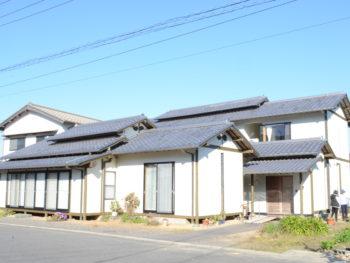 徳島市 和風住宅の外壁塗装 日本ペイント