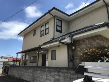徳島市 外壁張替え・塗装 T様邸